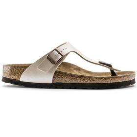 Birkenstock Gizeh Thong Sandals Birko-Flor Narrow Women, graceful pearl white